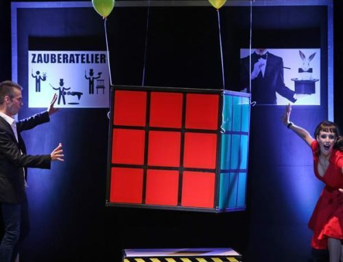 MAGIC MAN Rubiks Cube Act – FISM 2018