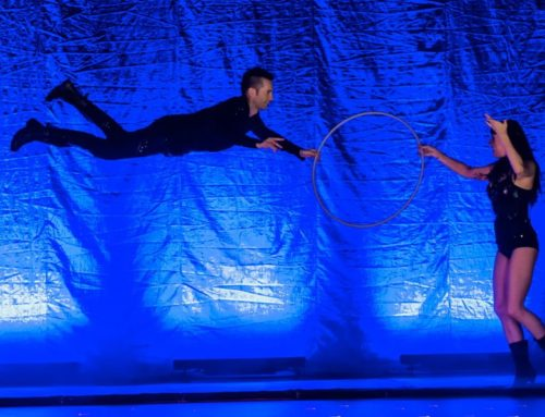 Flying Illusion by THE MAGIC MAN