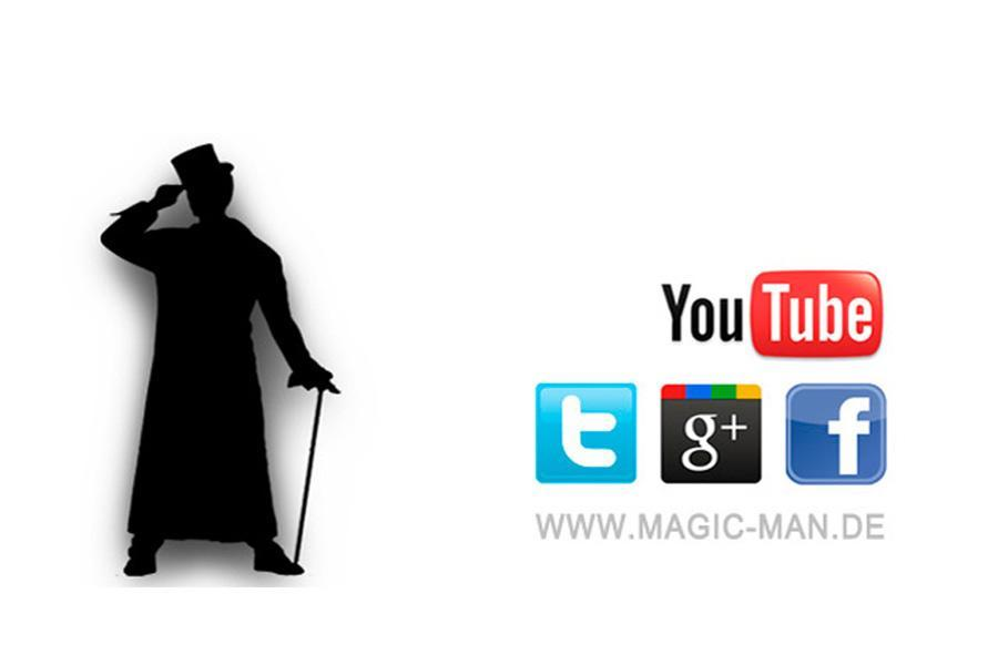 Magician in the social networks Magician in the social networks