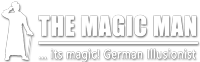 Magician & illusionist – THE MAGIC MAN Logo