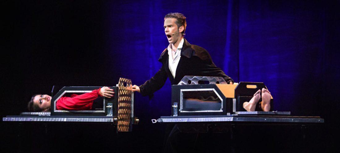 stage illusionist illusion magic show