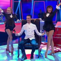 TV Show German magician on television