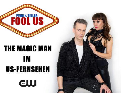 MAGIC MAN aka Willi Auerbach on US-television